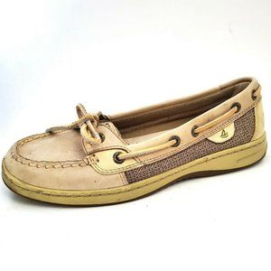 Sperry Top-Sider Angelfish Boat Shoe Taupe Leather